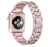 Браслет для женских часов Apple Watch полосы 38 мм/ 42 мм rose pink