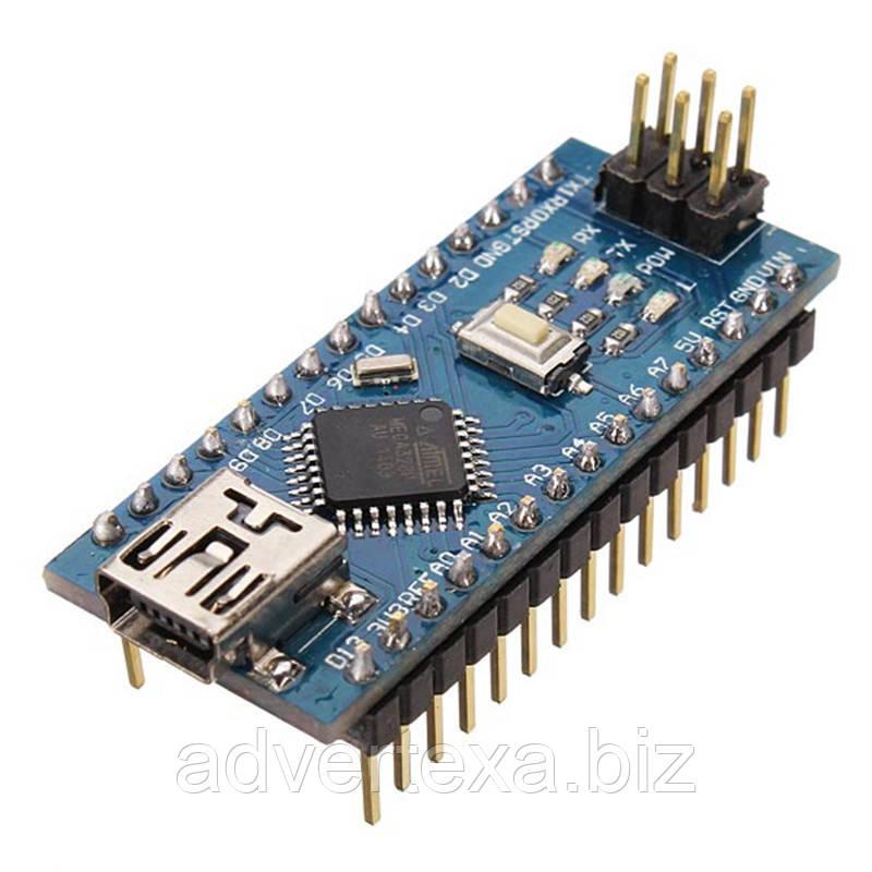 Arduino Nano V3.0 (ATmega328/ch340g - MiniUsb - UART) 5 В. 16 мГц.