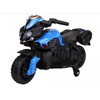Мотоцикл детский на аккумуляторе белый