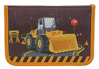 "Пенал-книжка Under Construction K15-622-6K, ТМ ""Kite"""