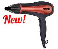 Фен для волос Magio MG-160 1800-2000Вт/3 реж.t/2скорости/концентратор
