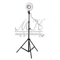 Кольцевая лампа для макияжа на штативе MS-20L