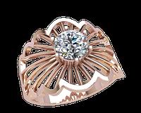 Золотое кольцо с камнем Федиль