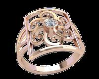Золотое кольцо с камнем Николлета