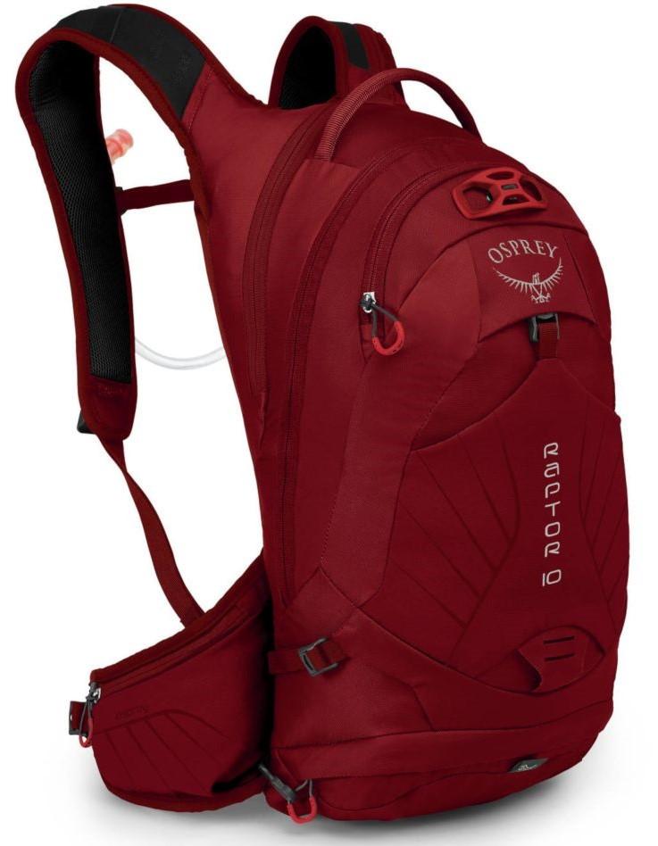 2adbc145483e Велосипедный рюкзак Osprey Raptor 10 Wildfire Red 009.1952, красный, 10 л