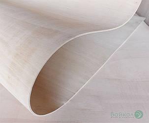 Фанера сейба гибкая 5 мм - 2,44х1,22 м (Продольная / Long)