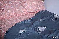 Двуспальное постельное бельё Голд Люкс