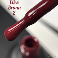 Гель лак Elise Braun № 002, 15 мл