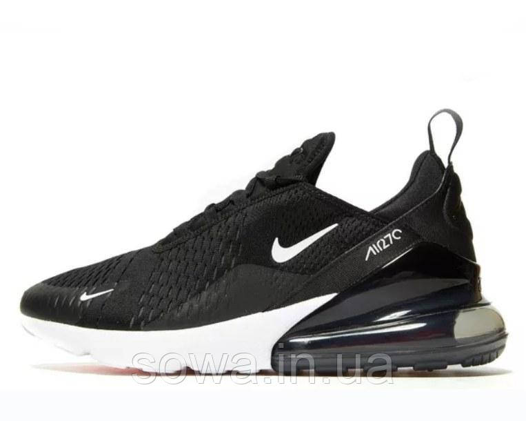 "✔️ Кроссовки Nike Air Max 270 ""Black/White"""