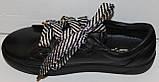 Кроссовки женские из натуральной кожи от производителя модель ЛИН058К, фото 3