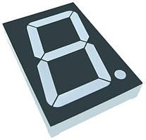 Цифровий семисегментний індикатор GNS-18011BUE-11 1.8 дюйм світлодіодний червоний  G-NOR 3625
