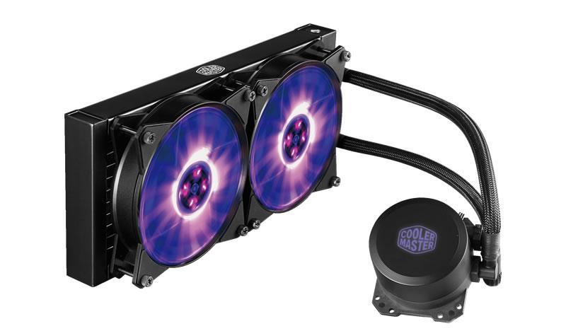 Жидкосное охлаждение Cooler Master MasterLiquid ML240L RGB (MLW-D24M-A20PC-R1)