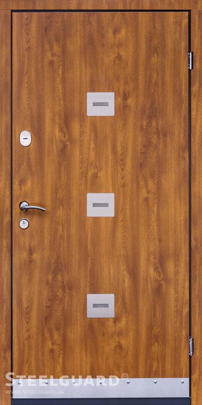 Двери Steelguard Sigma Golden Oak Серия ETERO