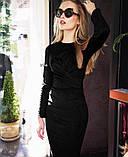 Женское замшевое платье , фото 7
