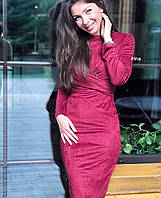 Женское замшевое платье , фото 1