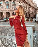 Женское замшевое платье , фото 3