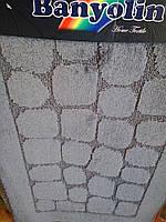 Коврик в ванную комнату Banyolin,цвет серые камни,Производитель Турция.