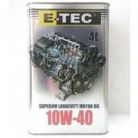 Масло E-TEC 10W40 EVO 4л
