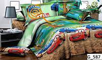 Детское постельное белье из хлопка Тачка Маквин