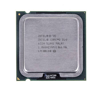 Процессор Intel Core 2 Duo E6320 1,86GHz/4M/1066 (SLA4U) s775, tray