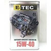 Масло E-TEC 15W40 EVO 4л