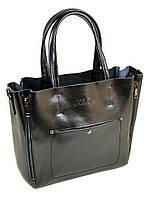 Сумка Женская Классическая кожа 8650 black.Купить  кожаную женскую сумку, фото 1
