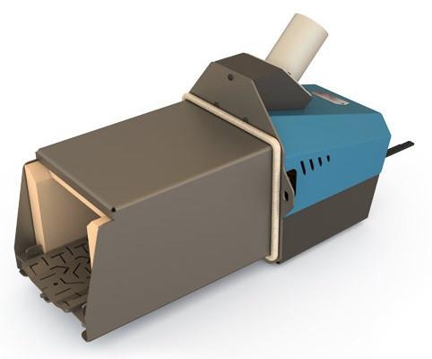 Пеллетная горелка Kvit Optima 40 кВт для твердотопливного котла (факельный тип, Польша)
