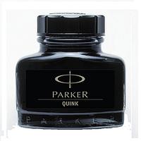Чернила Паркер для перьевых ручек чёрные в банке
