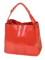 Сумка Женская Классическая кожа  8641 special-red.Купить  кожаную женскую сумку, фото 1
