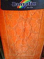 """Набор ковриков в ванную комнату """"Banyolin"""", оранжевый, производитель Турция"""