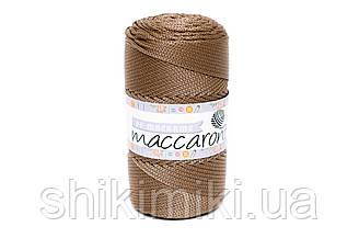 Трикотажный полиэфирный шнур PP Macrame,цвет Кофейный