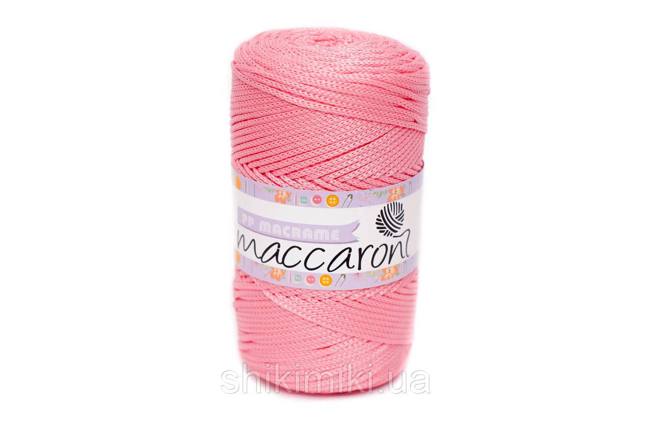 Трикотажный полипропиленовый шнур PP Macrame, цвет Ярко розовый