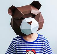 Маска Мишка papercraft, фото 1