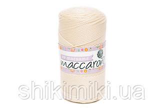 Трикотажный полипропиленовый шнур PP Macrame, цвет Молочный