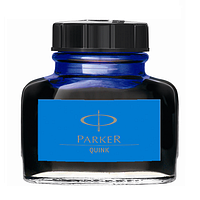 Оригинальные чернила Паркер, синий цвет.