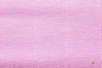 Гофрированная бумага (креп) Cartotecnica Rossi Baby Pink № 554 Италия