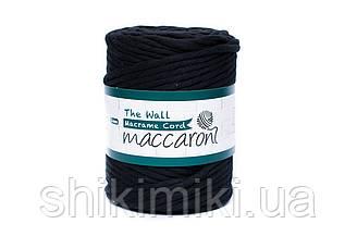 Эко шнур Macrame Cord 5 mm, цвет Черный