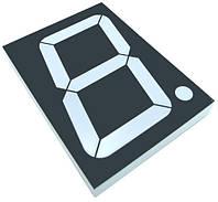 Цифровий семисегментний індикатор GNS-40011DUE-11 4.0 дюйм світлодіоднийчервоний  G-NOR 2605