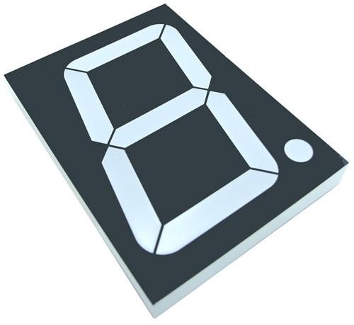 Цифровий семисегментний індикатор GNS-40011DUG-11 4.0 дюйм світлодіодний зелений G-NOR 3113