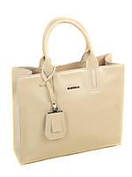 Сумка Женская Классическая кожа  8633   beige.Купить  кожаную женскую сумку, фото 1