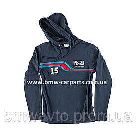 Мужская толстовка с капюшоном Porsche Men's hooded T-shirt – Martini Racing