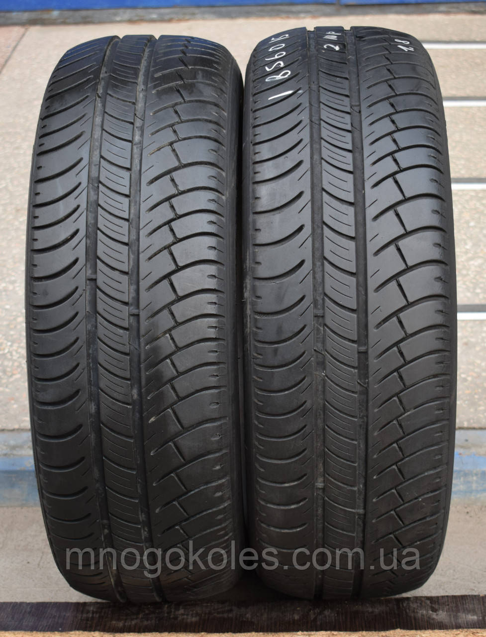 Летние шины б/у 185/60 R15 Michelin Energy, пара, 5-6 мм