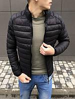 Куртка мужская весенняя ( Размеры M, L, XL ). Стильная мужская курточка черная