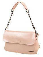 Сумка Женская Классическая кожа  8605 pink.Купить  кожаную женскую сумку, фото 1