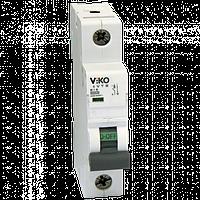 Автоматический выключатель VIKO, 1P, C, 6A