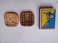 Пуговица сувенирная керамическая ручной работы