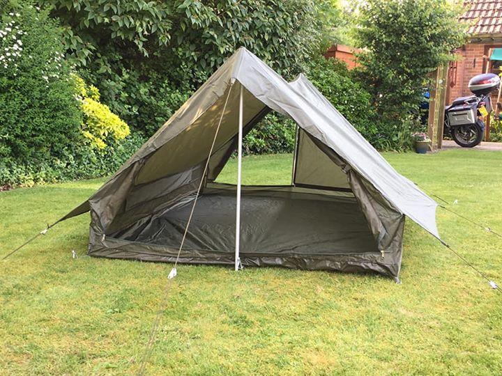 Новые двухместные французские палатки Marca F2