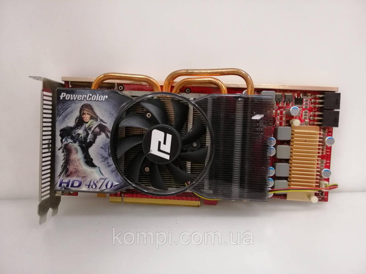 Відеокарта ATI RADEON HD 4870 1gb PCI-E