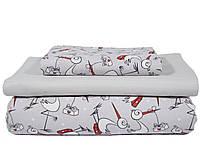 Комплект детского постельного белья 1,5-спальный (ПБП-005509)