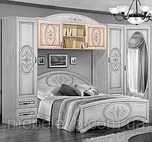 Антресоль Василиса над кроватью 140 570х1480х540мм   Мастер Форм, фото 2